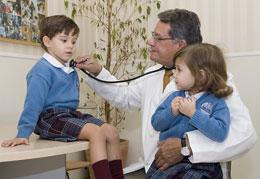 Guardería con pediatra